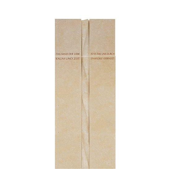 Domenico – Naturstein Grabmal Einzelgrab Lebensband