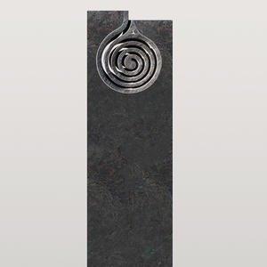 IL Turno Preisgünstiger Grabstein Granit mit Spirale