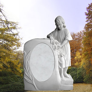 Palladia Kindergrabmal mit Mädchen