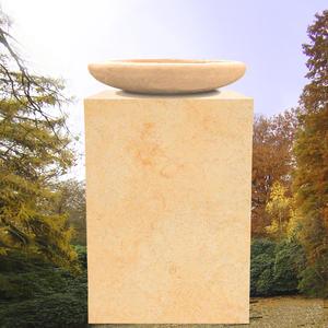 Kandinsky Grabstein mit Schale