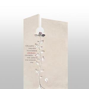 Fiola Urnengrab Grabstein mit Baum Symbol