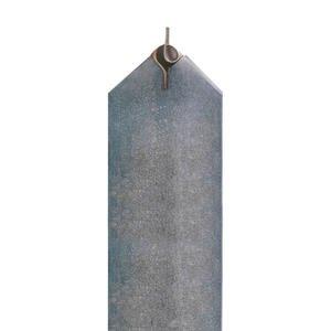 Cuneo Urnengrabmal Granit mit Bronze Symbol Unendlichkeit