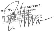 Stempel, Unterschrift