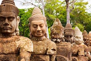 Eine Grafik zu Antike Buddha Skulpturen