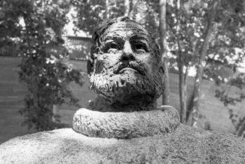 Eine Grafik zu Ernest Hemingway