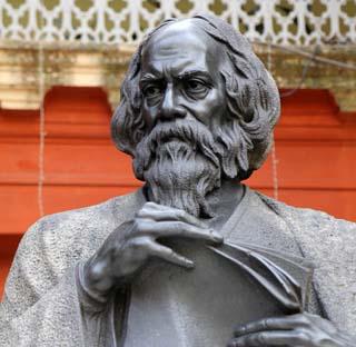 Eine Grafik zu Rabindranath Tagore