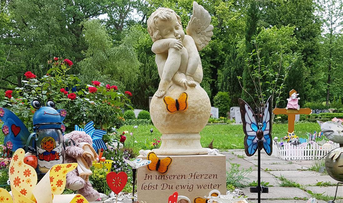 Besonderer Trauerspruch für einen Grabstein