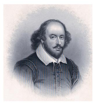 Eine Grafik zu William Shakespeare