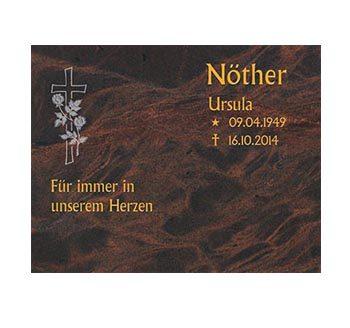 Eine Grafik zu Grabplatten & Liegeplatten für Urnengräber