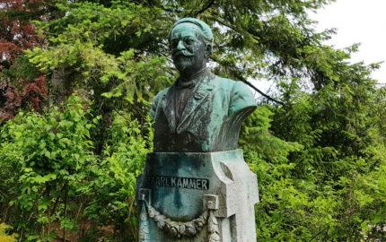 Jena Nordfriedhof Historisches Grab Kämmer