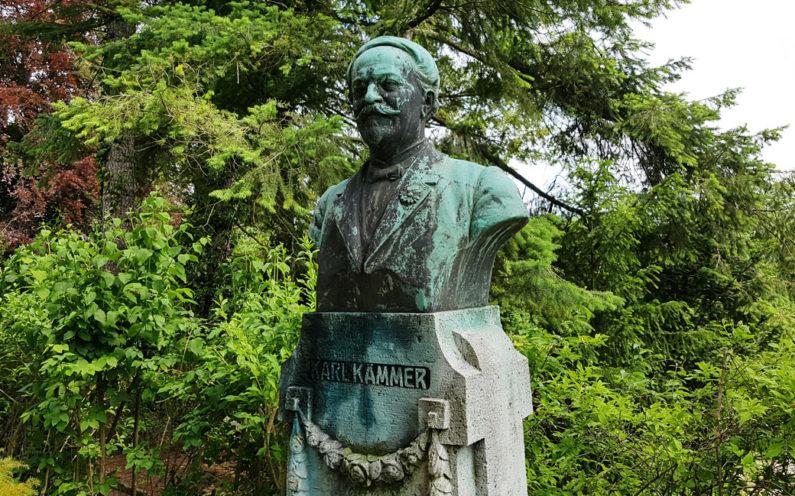 Jena Nordfriedhof Historisches Grab Kämmer - 2