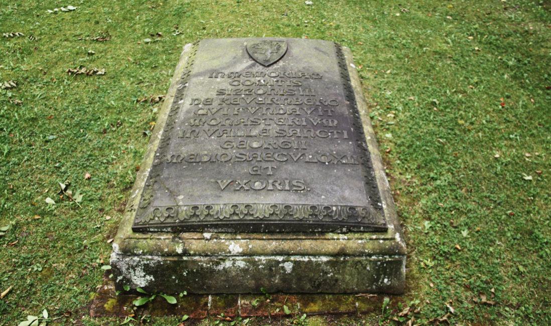 Grabplatte Gedenkstein Sandstein Georgenthal Friedhof