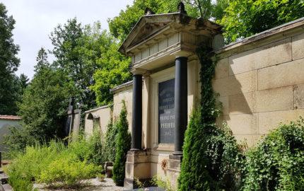 Weida Friedhof Historische Grabstätte Familie Pfeiffer