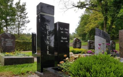 Ronshausen Friedhof Grabstein Werner
