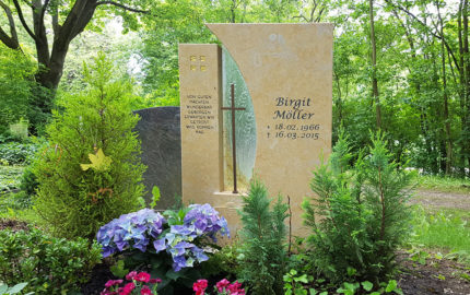 Erfurt Hauptfriedhof Grabmal Möller