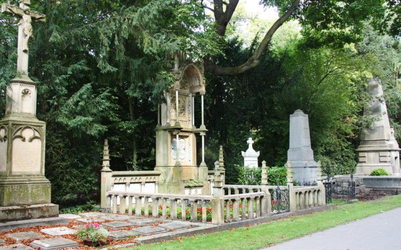 Köln Melatenfriedhof Historische Grabstätte Wisdorf - 2