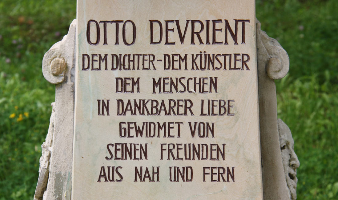 Historische Grabstätte Familiengrab Jena Nordfriedhof Spruch