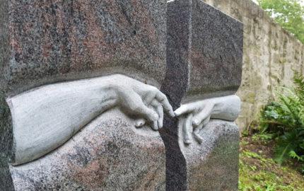 Georgenthal Friedhof Grabstein Schneider