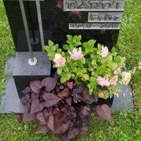 Grabschmuck & Grabdeko für ein Rasengrab Wiesengrab