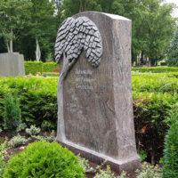 Doppelgrabstein Familiengrabstein Grabdenkmal Grabstein Grabmal Lebensbaum Granit Paradiso Grabgestaltung Demmin Steinmetz Friedhof