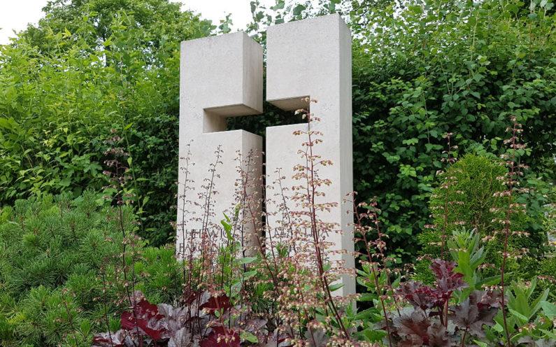 Erfurt-Hochheim Friedhof Grabmal Bargenda - 1