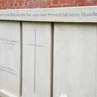 3-Teiliger Grabstein für ein Familiengrab Doppelgrab Grabsteine Familiengrabstätten