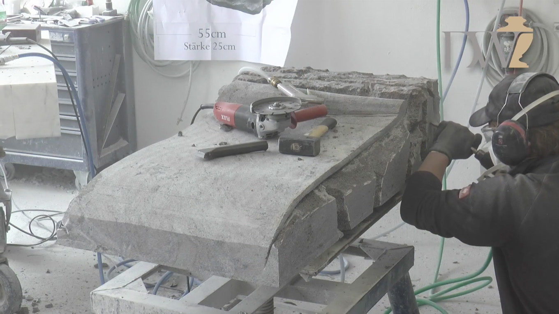 Video zu Blick in die Werkstatt von Stilvolle Grabsteine