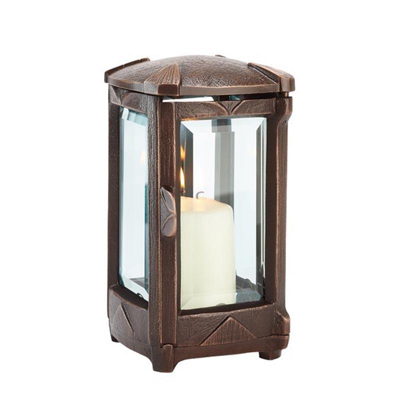 Grablichter (Edelstahl/Glas) kaufen - weiß/elektrisch mit ...