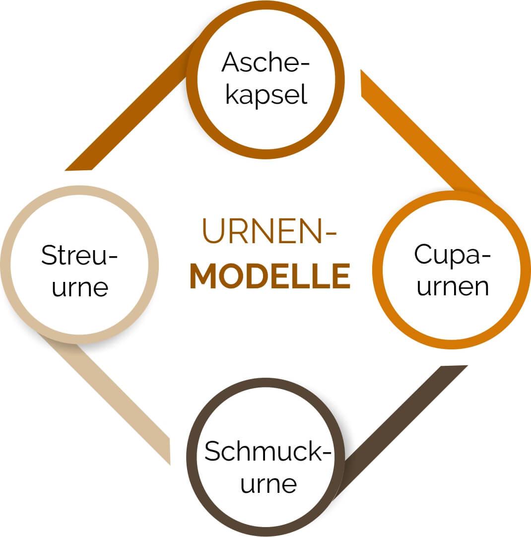 Übersicht über Urnenmodelle