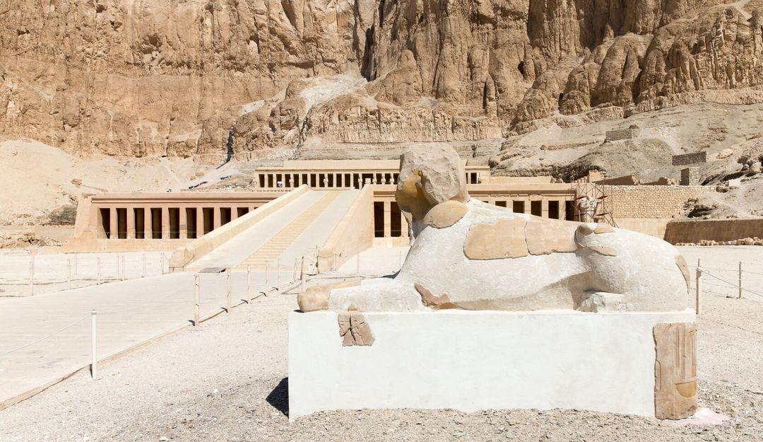 Der Totentempel der Hatschepsut | © Pakhnyushchyy