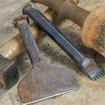 Eine Grafik zu Eisen & Meißel für die Natursteinbearbeitung