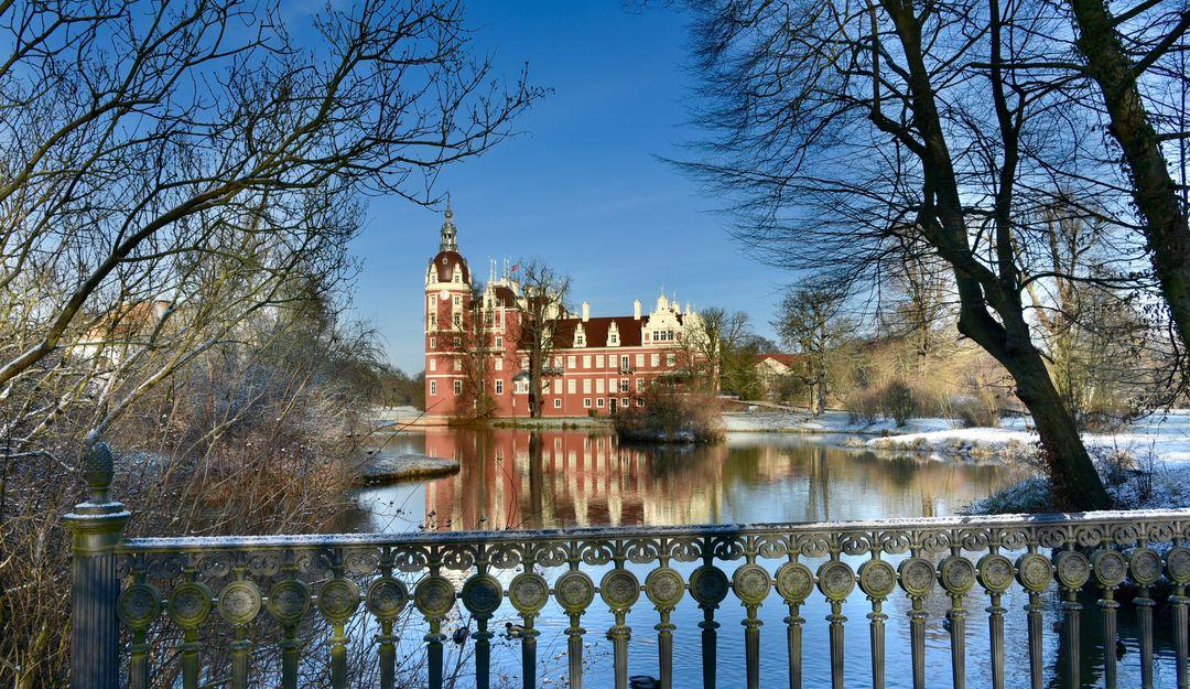Der Fürst Pückler Park nahe Cottbus im Winter. | Bildquelle: © Fotolia - T. Linack