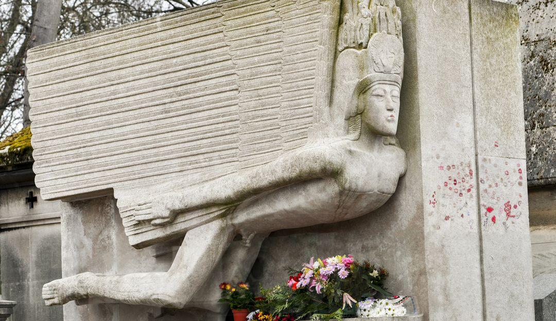 Das Grabmal von Oscar Wilde. | Bildquelle: © Fotolia - PIXATERRA