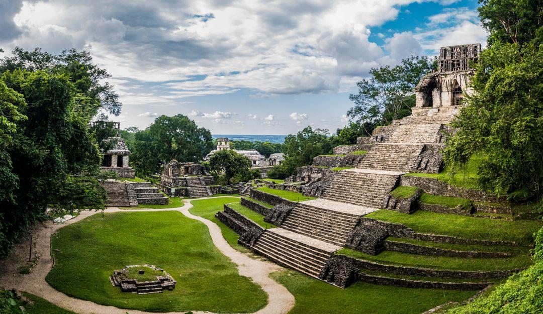 Das Sinnbild der Maya war geprägt von der Zerstörung und dem Wiederaufbau | © diegograndi