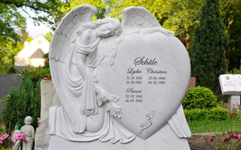 Berlin Friedhof Luisenkirchhof III Grabmal Schüle - 0