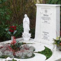 Grabgestaltung Grablatten Grababdeckung Doppelgrab Familiengrab Doppelgrabstein Marmor Steinmetz Friedhof Brück Köln