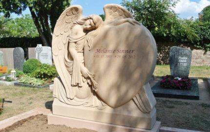 Wixhausen Friedhof Grabmal Sinner