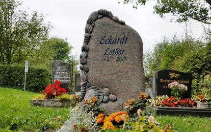 Hammerstedt Dorffriedhof Grabstätte Eckardt