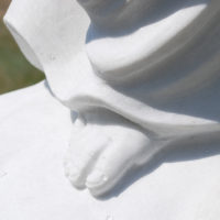 Marmor Skulptur Detail