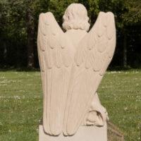 Grabengel Sandstein Friedhof Friedhofsengel Steinmetz Bildhauer