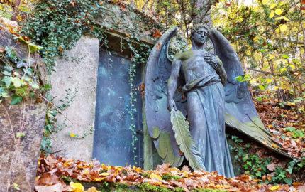 Gera Untermhäuser Friedhof Grabstätte Bruhm
