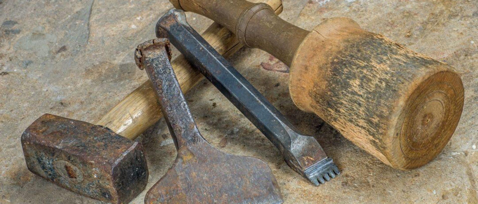 Steinmetzwerkzeug für Steinbearbeitung