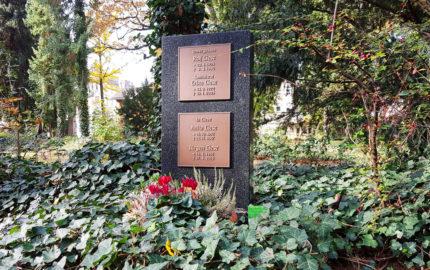 Gera Südfriedhof Grabmal Liese