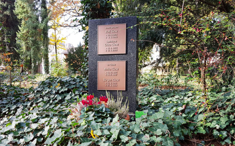 Gera Südfriedhof Grabmal Liese - 1