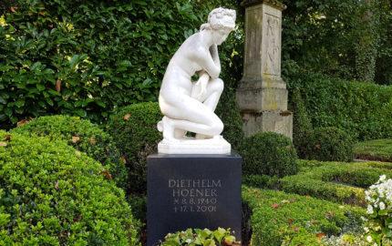 Köln Melatenfriedhof Grabstein Diethelm Hoener