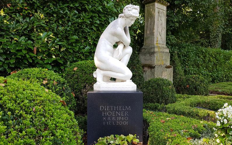Köln Melatenfriedhof Grabstein Diethelm Hoener - 1