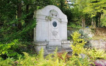 Jena Nordfriedhof Grabmal Ernst Abbe