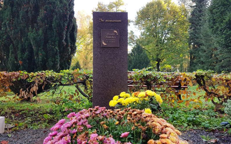 Gera Südfriedhof Grabmal Böttcher