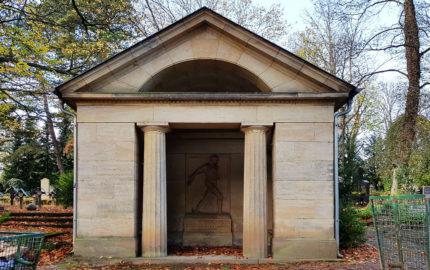 Weimar Hauptfriedhof Grabstätte Wildenbruch