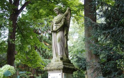 Köln Melatenfriedhof historische Grabstele Hölper